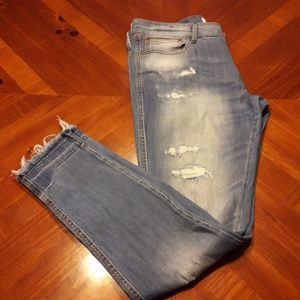 Mng Denim and  Tees Factory Distressed Jeans